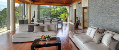 Villa Minh - Living area